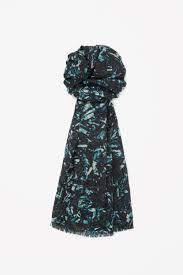 Printed Silk-Fine Wool Women Shawl