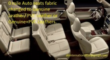 Car & Auto interiors upholstry