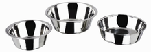 High Quality Stainless Steel Dog Pot Flat Pet Bowls