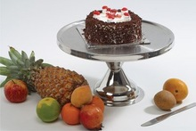 stainless steel wedding cake stands