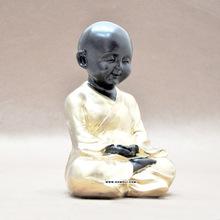 Baby monk home decor polyresin budda statue