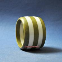 Combo color stripe bangles