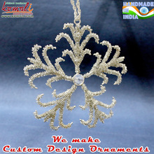 Crown style Christmas ornaments
