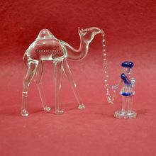 glass home decoration animal figurines