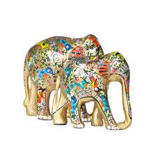Hand painted souvenir elephant