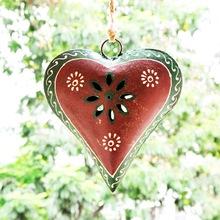 Iron metal hanging heart