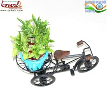 metal bicycle planter plant stand