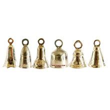 small temple brass bells