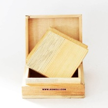 Wooden Coaster Box