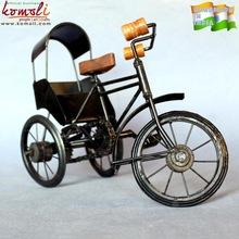 wrought iron rickshaw toy