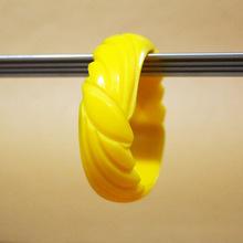 Yellow star cut bangles