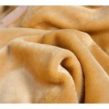 brown color mink blanket