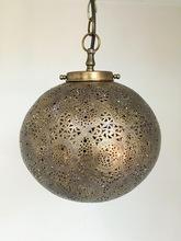 Brass moroccan hanging lanterns
