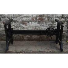 Cast iron adjustable crank table base