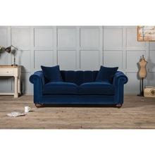 Chesterfield style two setaer velvet sofa