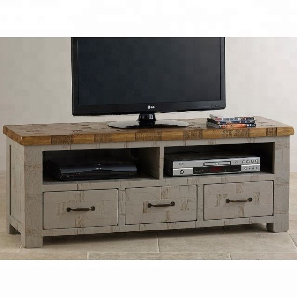 Oak wooden tv stand/Wooden Tv unit