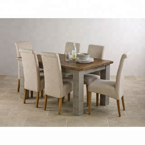 Solid oak wood dining table set/Wooden dining table set