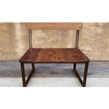Vintage industrial reclaim wood bench