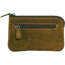 Coin Leather brown wallets