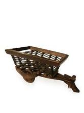 Wooden Decorative Fruit Basket