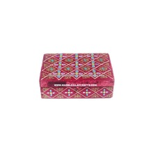 Handmade Zari Hand Embroidery Jewelry Box
