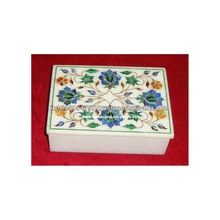 Inlaid Marble Stone Handcrafted Box