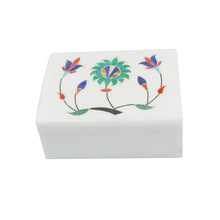 Marble Stone Inlay Box