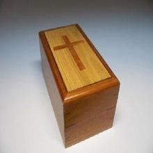 Basic Simple Wood Cremation Urns