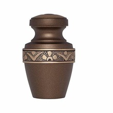 BRASS KEEPSAKE CREMATION URN