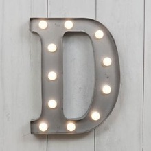 Colorful Marquee Led Alphabet Light