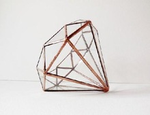 DIAMOND SHAPE TERRARIUMS