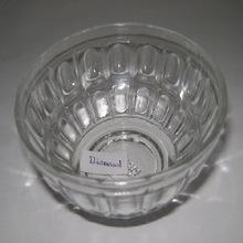 GLASS PUDDING BOWL
