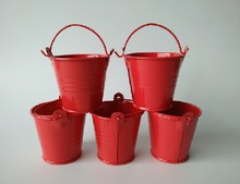 ROUND MINI PAIL WITH HANDLE