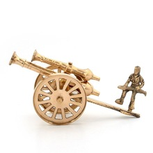 Brass Rajasthani Canon