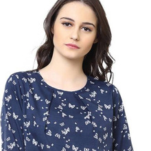 Butterfly Printed Women Top