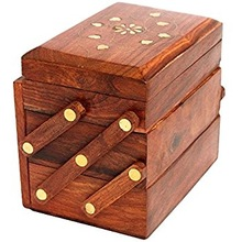 Antique Decorative Jewelry Box / Case