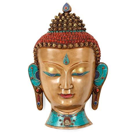 Buddha Mask Buddha wall Hanging Mask