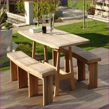 Carved Wooden Table And Chairs