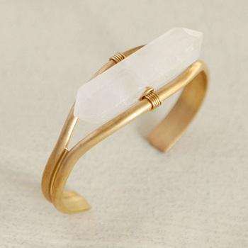 Clear Crystal Quartz Bracelets