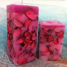 Designer Cut Handmade Natural Candles
