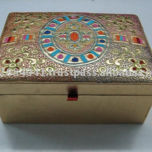 Embroidered Handmade Beaded Storage Box