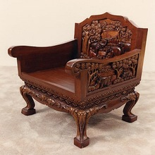 Hand Carved Wooden Chairs Sofa
