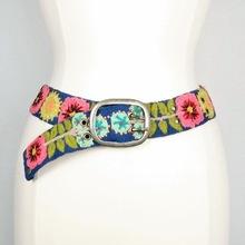 Hand Embroidered Peruvian Suzani Belts