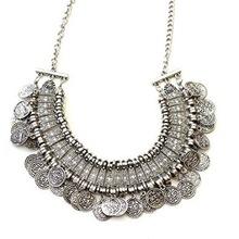 Handmade Coin Choker Necklace