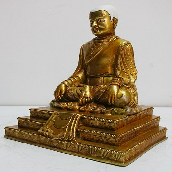 Handmade Guru Marpha Statue