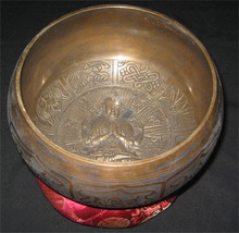 Handmade Spiritual Brass Singing Bowl