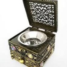 Incense Bakhoor Burner with Drawer And Storage Box