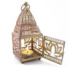 iron lantern candle holders