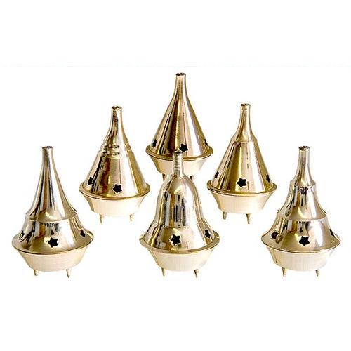 Mini Brass Cone Incense Burner