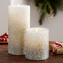 mix fragrance scented pillar candle